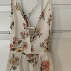 BRAND NEW WITH TAGS Forever 21 Floral Maxi Dress